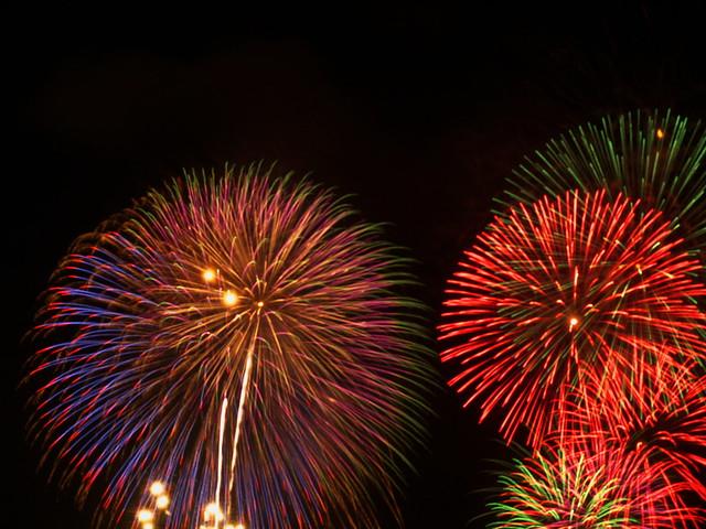 Fireworks festival in Kagoshima