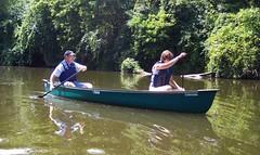 Canoe down the Kishwaukee River