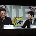 WonderCon 2011 - Three Musketeers panel - Luke Evans and Logan Lerman