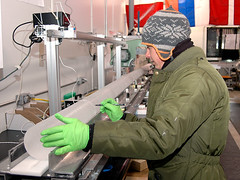 Core processing at the National Ice Core Laboratory