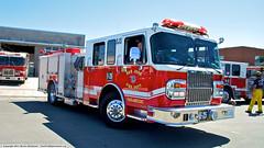 SJS Engine 25 (YFD) Tags: sanfrancisco california usa canon fire baseball action 911 sanjose firetruck giants fireengine firestation sjfd emergency paramedic ems firedepartment kme spartan gladiator mlb amr pumper losangelesdodgers majorleague americanmedicalresponse eos7d bryanstow