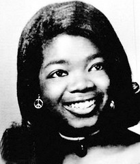 Oprah as a young woman