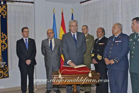 Toma de poseción Delegado Gobierno Antonio Claret