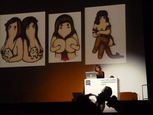 Amandine Urruty on the Pictoplasma 2011