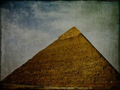 [フリー画像] 建築・建造物, 遺跡, ピラミッド, エジプト, 201104150100