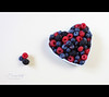 Berry tasty (Faisal | Photography) Tags: life blue red black canon eos still berry berries tasty l usm f28 ef 2470mm canonef2470mmf28l 50d canoneos50d faisalali فيصلالعلي
