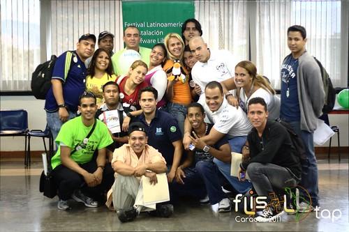 Flisol Caracas 2011 - Grupo de Discapacitados Auditivos del Politécnico de La Victoria