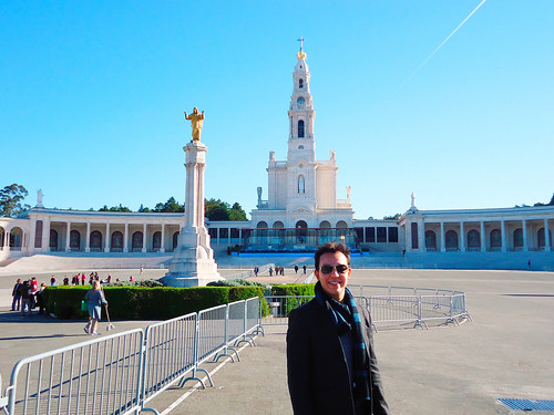 Brother in Fatima, Portugal by Sil Artesanato