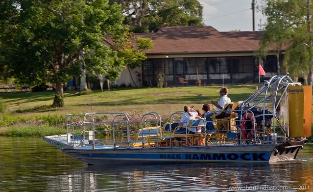 Airboat Rides at Black Hammock