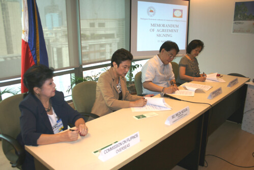 MOA Signing with CFO