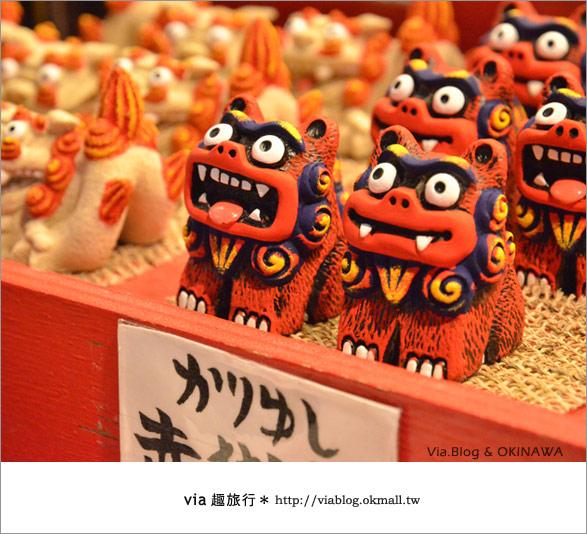 【沖繩必買】跟via到沖繩國際通+牧志公設市場血拼、吃美食!6
