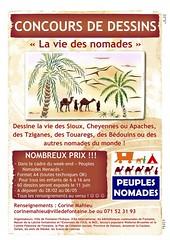 Dessine la vie des nomades