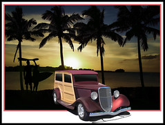 Surf's up (bindare2) Tags: california art cars beach car automobile surf clean american topaz dreamin woodie carart hodrod customhotrod carimages carartwork topazadjust hotrodcruise cararts carartphotos carartpictures carcustoms