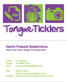visiting card for FB