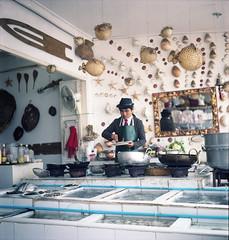 seafood restorant (miss Yolkina) Tags: sea people fish film rolleiflex thailand asia 66 seafood restorant