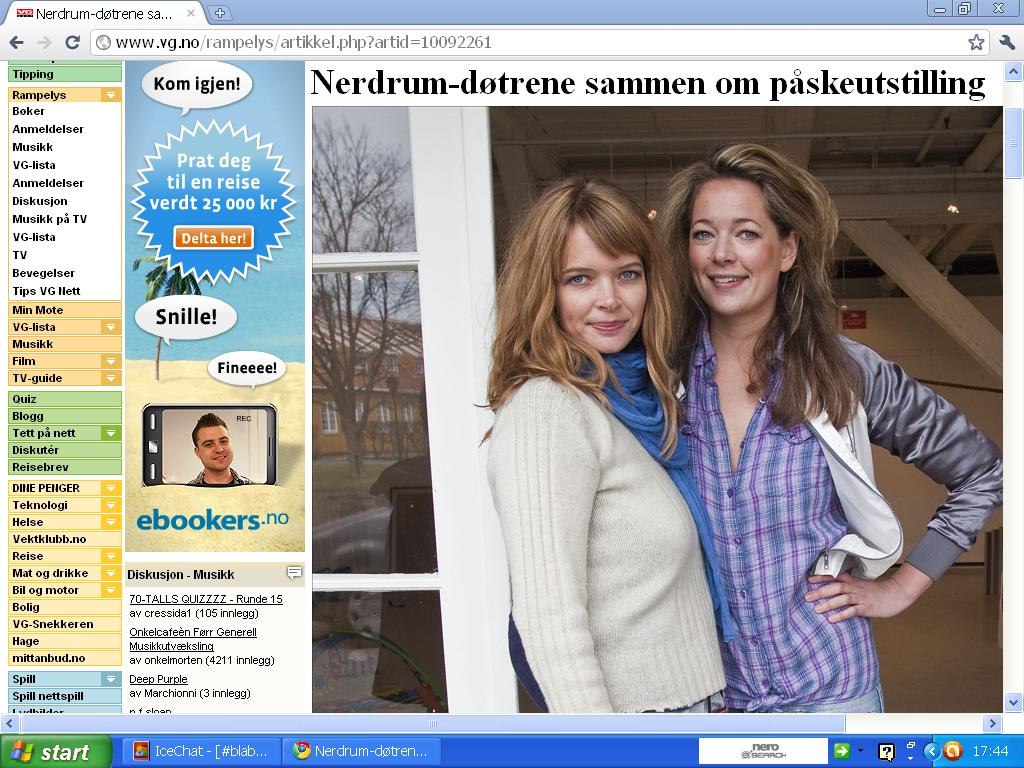ferie hos bestemor ingeborg i nevlunghavn