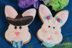 Fiesta San Antonio Easter Cookies 11 (m5cake) Tags: bunnies alamo riverwalk eastereggs charro cascarones fiestasanantonio fiestacookies