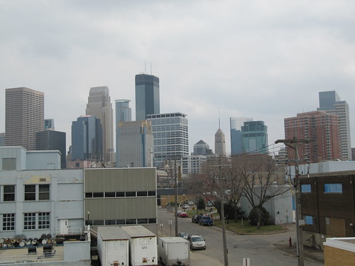 Minneapolis Skyline from Lyndale Ave