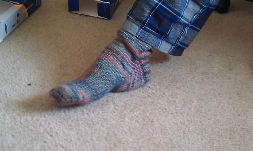 Husband's socks