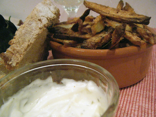 Moules et Frites avec aïoli