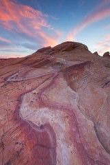 Rainbow Sherbert - Valley of Fire (D Breezy - davidthompsonphotography.com) Tags: statepark southwest valleyoffire colors clouds canon unitedstates desert lasvegas nevada stripe firewave 1740f4l rainbowsherbert 1740mml leefilter 5dmarkii 3stopsoftedge