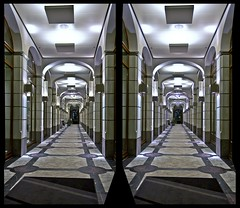 Leipzig Department Store ::: Stereoscopic HDR/Raw Cross View 3D ::: (Stereotron) Tags: 3d 3dphoto 3dstereo 3rddimension spatial stereo stereo3d stereophoto stereophotography stereoscopic stereoscopy stereotron threedimensional stereoview stereophotomaker stereophotograph 3dpicture 3dglasses 3dimage crosseye crosseyed crossview xview cross eye squint squinting freeview quietearth europe germany saxony leipzig city warehouse store shopping mall night canon eos 550d tonemapping hdr hdri raw cr2 3dframe airtightframe fancyframe floatingwindow airtight frame spatialframe stereowindow window 1855mm kitlens sidebyside sbs kreuzblick 100v10f