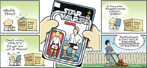 star wars comic strip