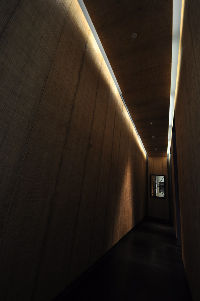 An interesting hall way within the museum ...