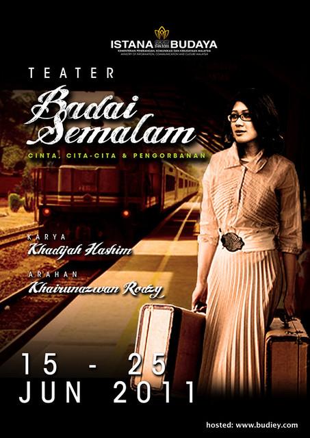 Poster Teater Badai Semalam