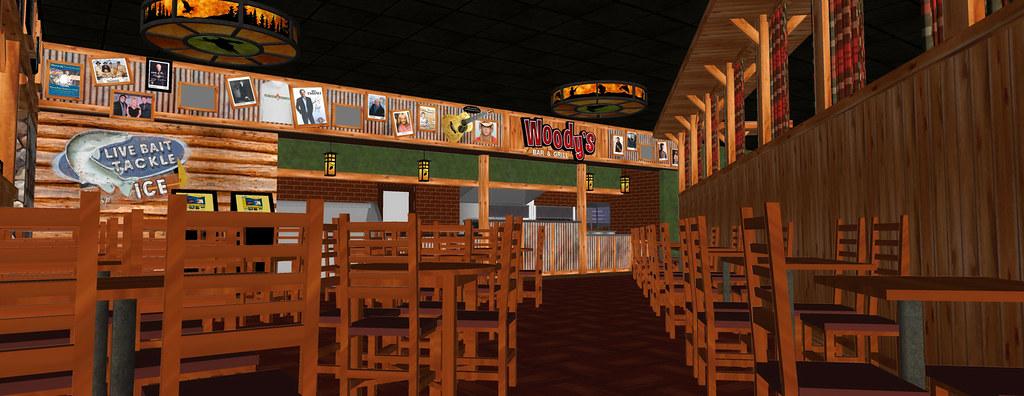 Interior Bar Design | Bar Decor Design | Conceptual Bar Rendering | Lake of the Torches Casino