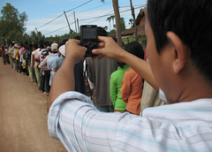 Shooting with Kodak Zi8, Cambodia 2010