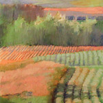 """<b>Valley Grove Expanse</b><br/> Maakestad (LC '80) (oil pastel on paper, 2010)<a href=""""http://farm6.static.flickr.com/5306/5636102052_be5a7185a2_o.jpg"""" title=""""High res"""">∝</a>"""