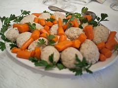passover seder gefiltefish