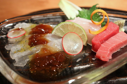 Tsukuri (sashimi): Today's Chef's Choice