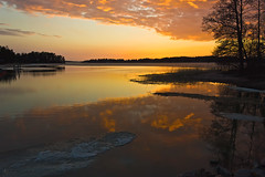 Sunset in Naantali 1 (Chrisseee) Tags: sunset orange reflection ice clouds canon finland landscape evening spring naantali boatharbor touraroundtheworld mygearandme kristiinahillerstrm mygearandmepremium chrisseee mygearandmebronze mygearandmesilver mygearandmegold mygearandmeplatinum mygearandmediamond tawclub5starsgold