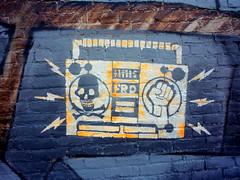 Free Radio Olympia @ the Olympia Rafah Mural P...