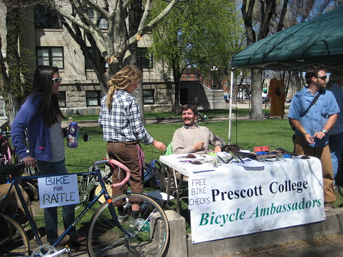 Prescott College Bicycle Ambassadors