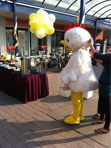 Ballontoef Pasen t Plateau Spijkenisse