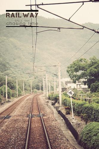 Railwaychasing time - railroad.