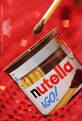 "Nutella (Queen333"" ) Tags: red cookies canon chocolate go queen 100 nutella 333 100macro  g0         ghadah"