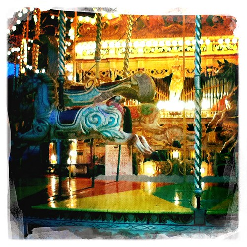 Fairground Organ Carousel by loopingstar