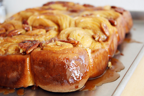 orange-pecan sticky buns.
