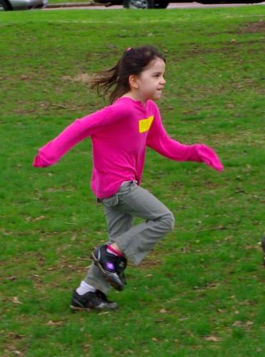 Rosie running