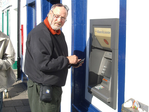 Jeff ATMing
