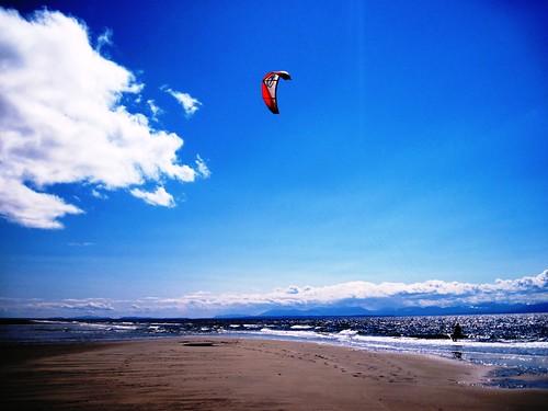 Spring Beach Action
