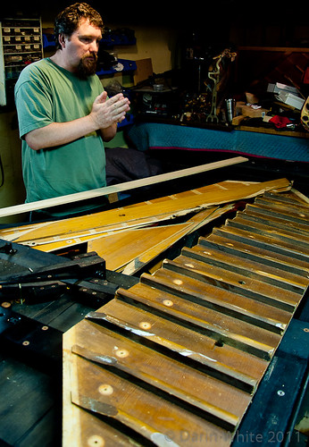 The Jazz Room piano rebuild - soundboard 016