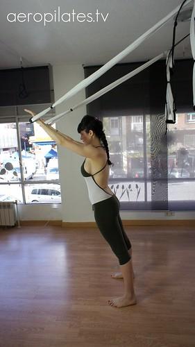 Aprende Aero Yoga en Madrid, Calles Serrano y Príncipe de Vergara