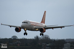 HB-JZO - 2398 - Easyjet - Airbus A319-111 - Luton - 110309 - Steven Gray - IMG_0677