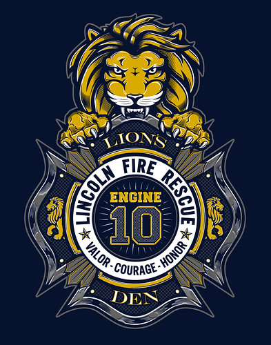 LFR Engine 10 Crest by W70