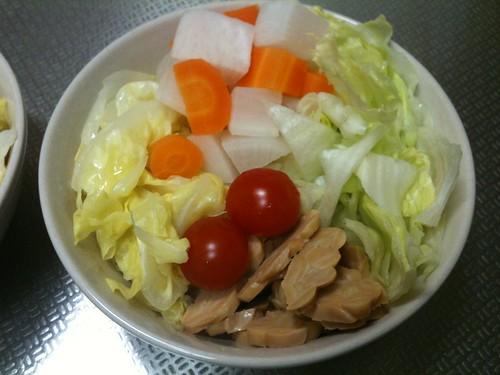 朝食サラダ(2011/4/29)